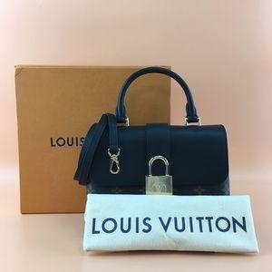 Louis Vuitton Locky BB Monogram Canvas Noir Calfsk